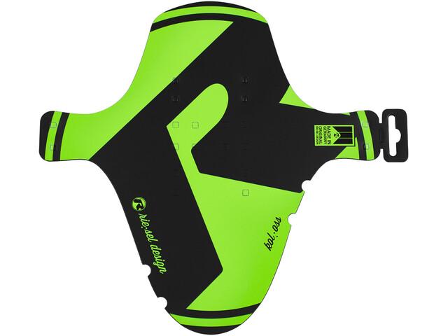 rie:sel design kol:oss Spatbord groen/zwart
